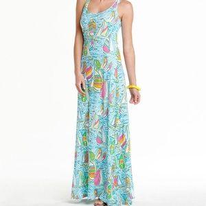 Lilly Pulitzer Gotta Regatta Maxi Dress - XS